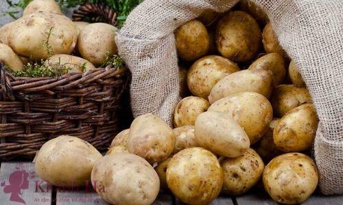 Khoai tây giúp làm sáng da và ngăn ngừa mụn