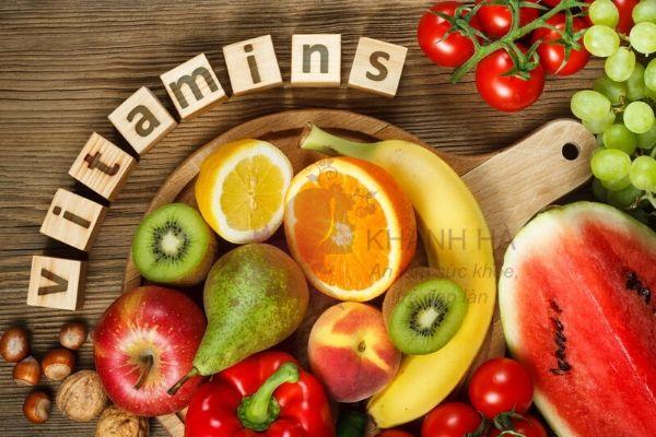 Ăn đủ các chất vitamin để ngăn ngừa mụn thịt xuất hiện