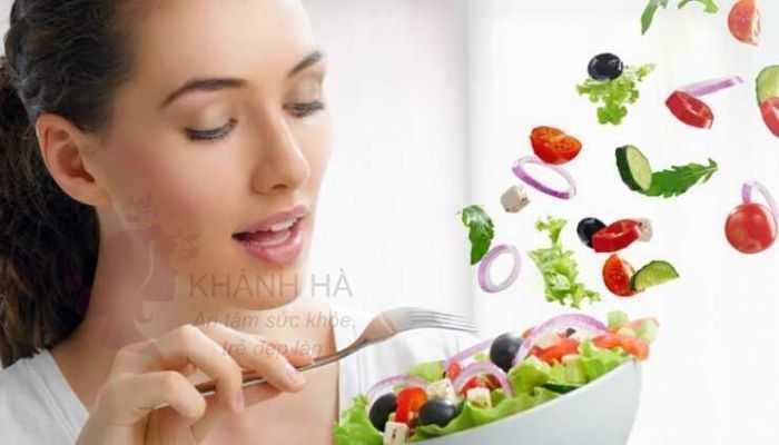 Ăn nhiều hoa quả bổ sung sắc tố trị nám