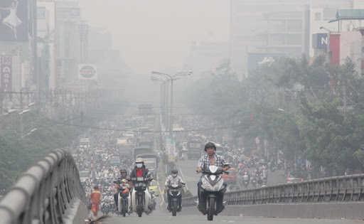 Không khí ô nhiễm