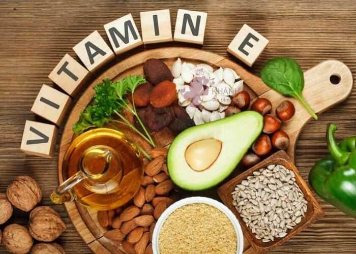 vitamin E trị sẹo rỗ nặng