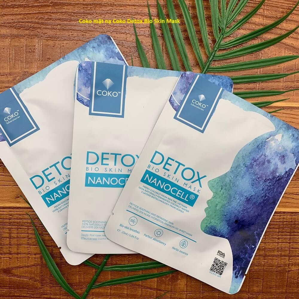 [REVIEW] Coko mặt nạ Coko Detox Bio Skin Mask Hộp 7 miếng Có Tốt Không? Giá Bao Nhiêu? Mua Ở Đâu Chính Hãng?
