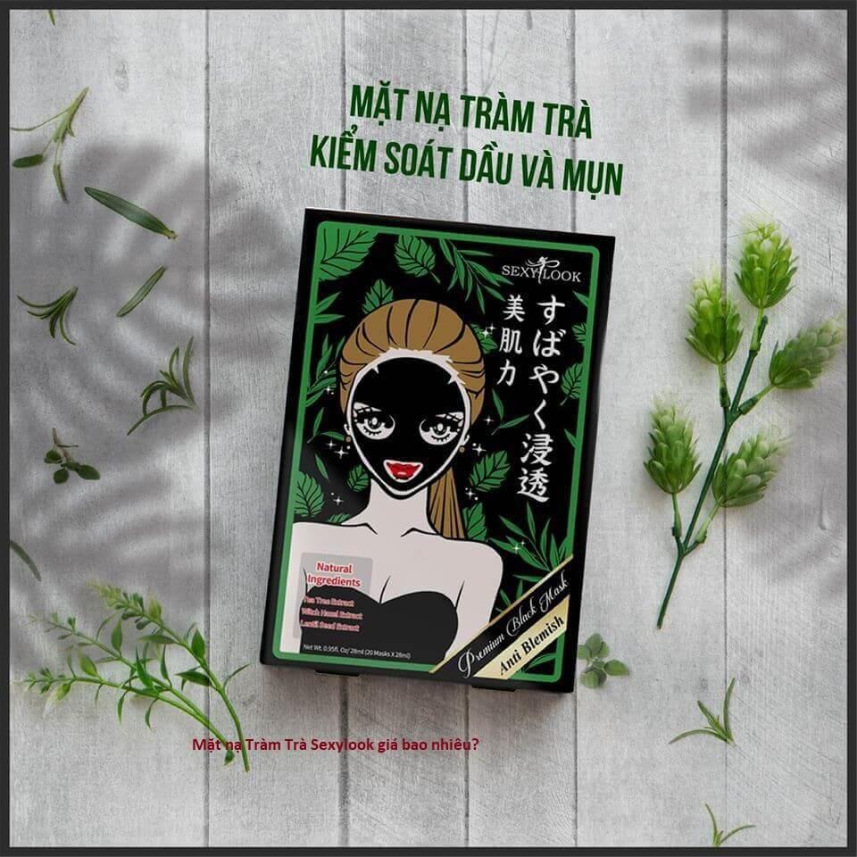 [REVIEW] Sexylook Mặt nạ Tràm Trà Kiểm Soát Dầu Và Mụn Tea Tree Anti Blemish Black Facial Mask 20 Miếng/Hộp Có Tốt Không? Giá Bao Nhiêu? Mua Ở Đâu Chính Hãng?