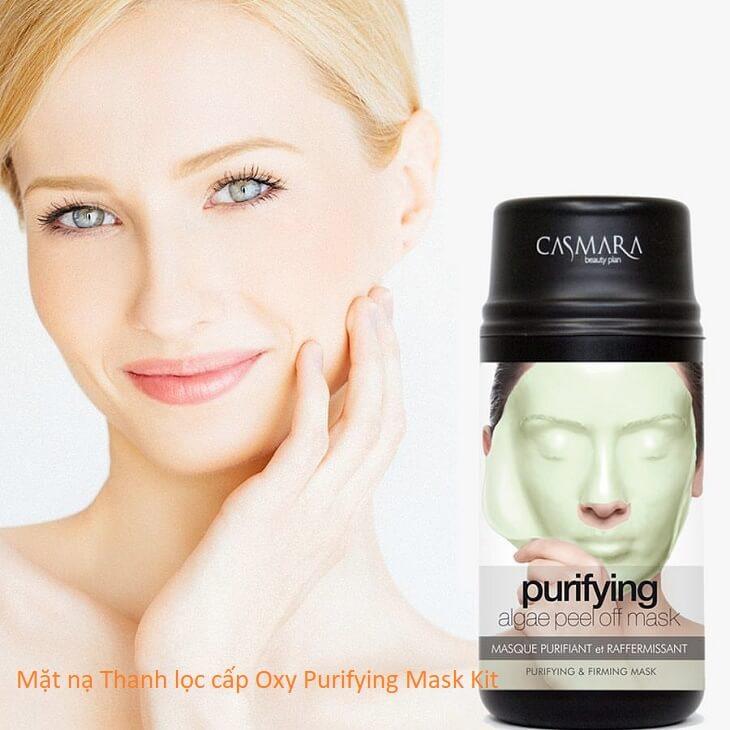 [REVIEW] Casmara Mặt nạ Thanh lọc cấp Oxy Purifying Mask Kit Có Tốt Không?