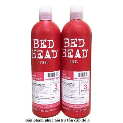 Tigi bed head màu đỏ