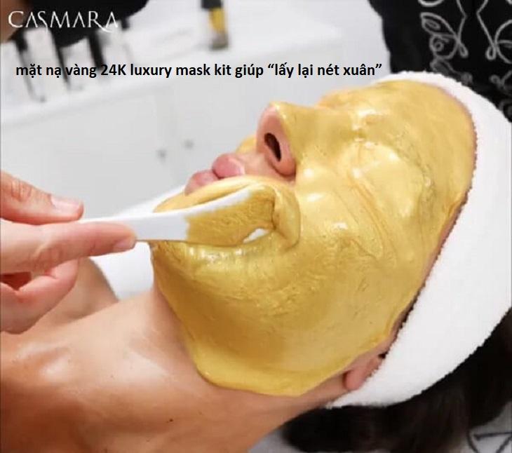 [REVIEW] Mặt Nạ Vàng 24K Luxury Mask Kit Casmara Có Tốt Không? Giá Bao Nhiêu? Mua Ở Đâu Chính Hãng?