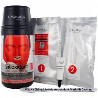[REVIEW] Mặt Nạ Chống Lão Hóa Antioxidant Mask Kit Casmara Có Tốt Không? Giá Bao Nhiêu? Mua Ở Đâu Chính Hãng?