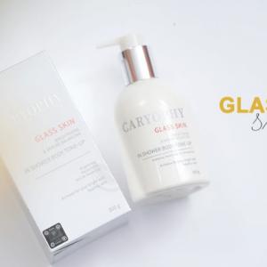 kem dưỡng trắng da body caryophy glass skin