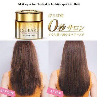 Mặt nạ ủ tóc tsubaki phục hồi tóc hư tổn