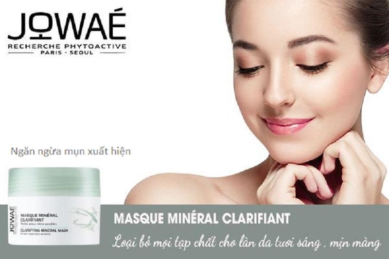 [REVIEW] Mặt Nạ Khoáng Sáng Da Clarifying Mineral Mask Jowae có tốt không? Giá bao nhiêu? Mua ở đâu chính hãng?