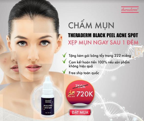 serum chấm mụn Black peel acne spot giá bán bao nhiêu